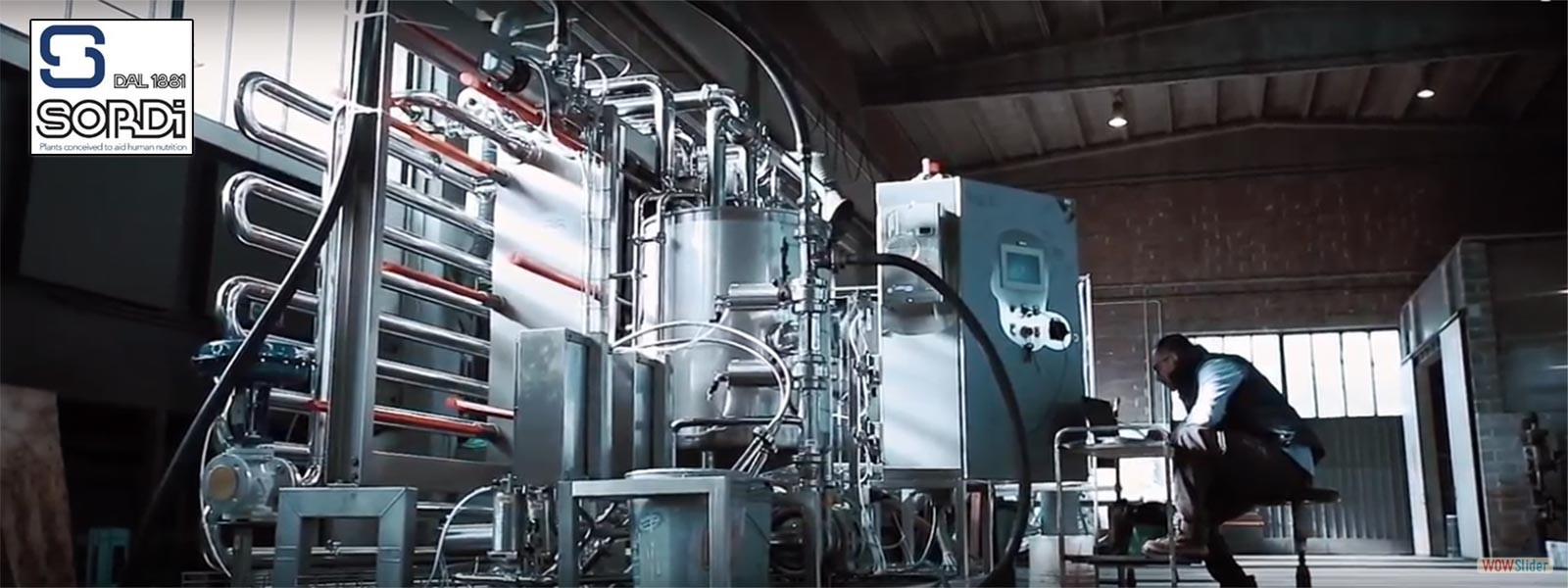 Plants & Machinery for Milk Processing Industry